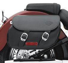 Smooth Leather Saddlebags