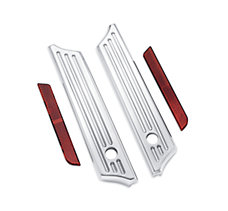 Billet Saddlebag Hinge Cover Kit