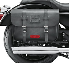 Express Rider Leather Saddlebags
