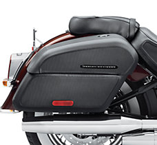 H-D Detachables Locking Saddleba...