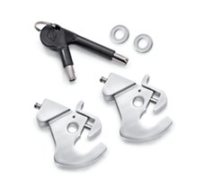 Locking H-D Detachables Latch