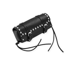 Studded Leather Sissy Bar Bag