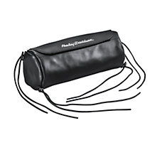 Soft Leather Handlebar/Fork Bag