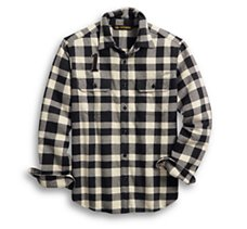 Logo Buffalo Check Shirt
