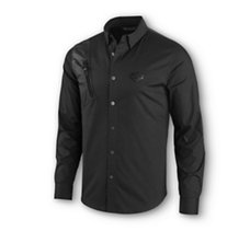 Zipper Pocket Stretch Shirt