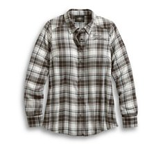 Rayon Plaid Shirt