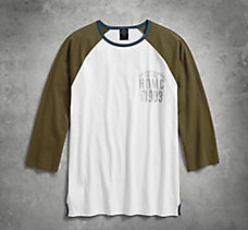 HDMC™ 1903 Slim Fit Baseball Tee
