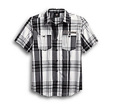 High Density Print Logo Plaid