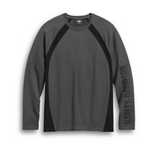 Colorblock Long Sleeve Tee