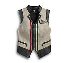 Dirty Wash Denim Vest