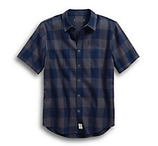 Buffalo Check Plaid Slim Fit