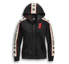 Performance Star Sleeves Hoodie