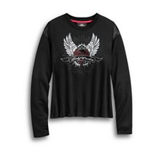 Winged Heart Long Sleeve Tee