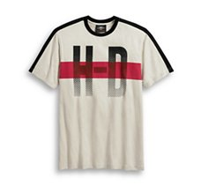 H-D Chest Stripe Tee