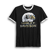 Retro Eagle Slim Fit Tee