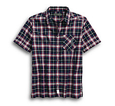 Lightning Bolt Slim Fit Plaid