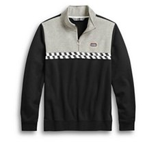 Race Stripe 1/4-Zip Pullover