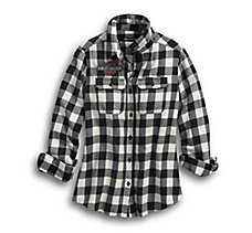 V-Twin Eagle Plaid Shirt