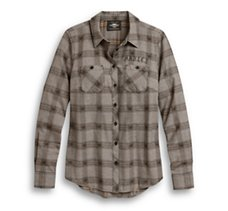 Genuine Winged Logo Plaid Shirt