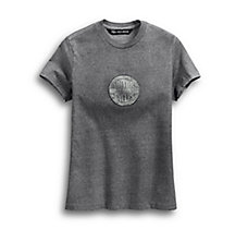 Winged Circle Logo Tee