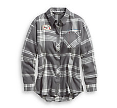 Eagle Graphic Plaid Shirt