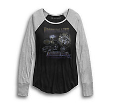 Legends Live Raglan Tee