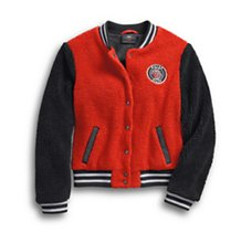 Sherpa Fleece Varsity Jacket