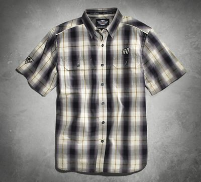 Performance Plaid Woven Shirt