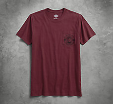 Circle 03 Slim Fit Pocket Tee