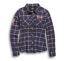 Skull #1 Plaid Flannel Shirt