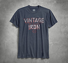 Vintage Iron 3-D Slim Fit Tee