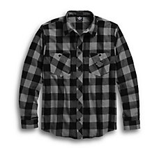Brushed Plaid Flannel Shirt