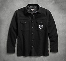 Heavyweight Shirt Jacket with