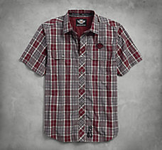 Plaid Cotton Dobby Shirt