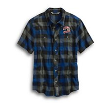 03 Plaid Slim Fit Shirt
