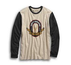 Slim Fit Baseball Tee