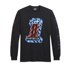 Bars & Stars Long Sleeve Tee