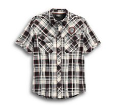 Performance Vented Plaid Shirt