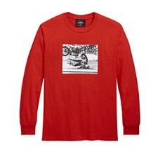 Evel Knievel Long Sleeve Tee