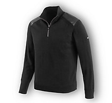 Wool Blend 1/4-Zip Slim Fit