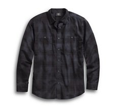 Specialty Wash Plaid Shirt