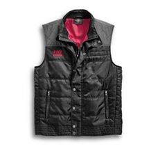 Ripstop Accent Quilted Vest