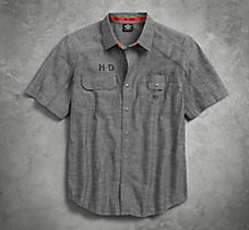 Textured Canvas Shirt