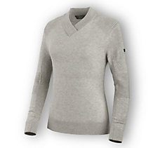 Wool Blend V-Neck Sweater