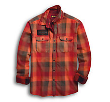 Service Plaid Slim Fit Shirt