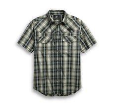 Snap Front Plaid Shirt Best Seller