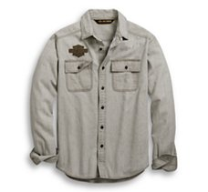 Logo Chambray Shirt