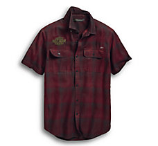 #1 Eagle Plaid Slim Fit Shirt