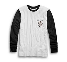 Pocket Slim Fit Baseball Tee