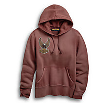 Embroidered Eagle Pullover